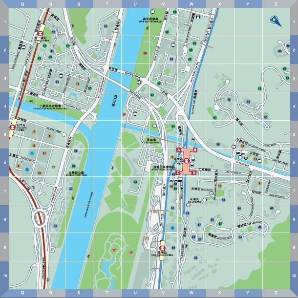 香港沙田地图全图