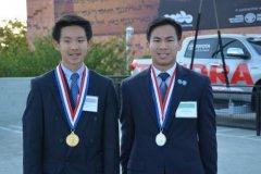 美国华裔兄弟双双获选美国少年科学院终身院士